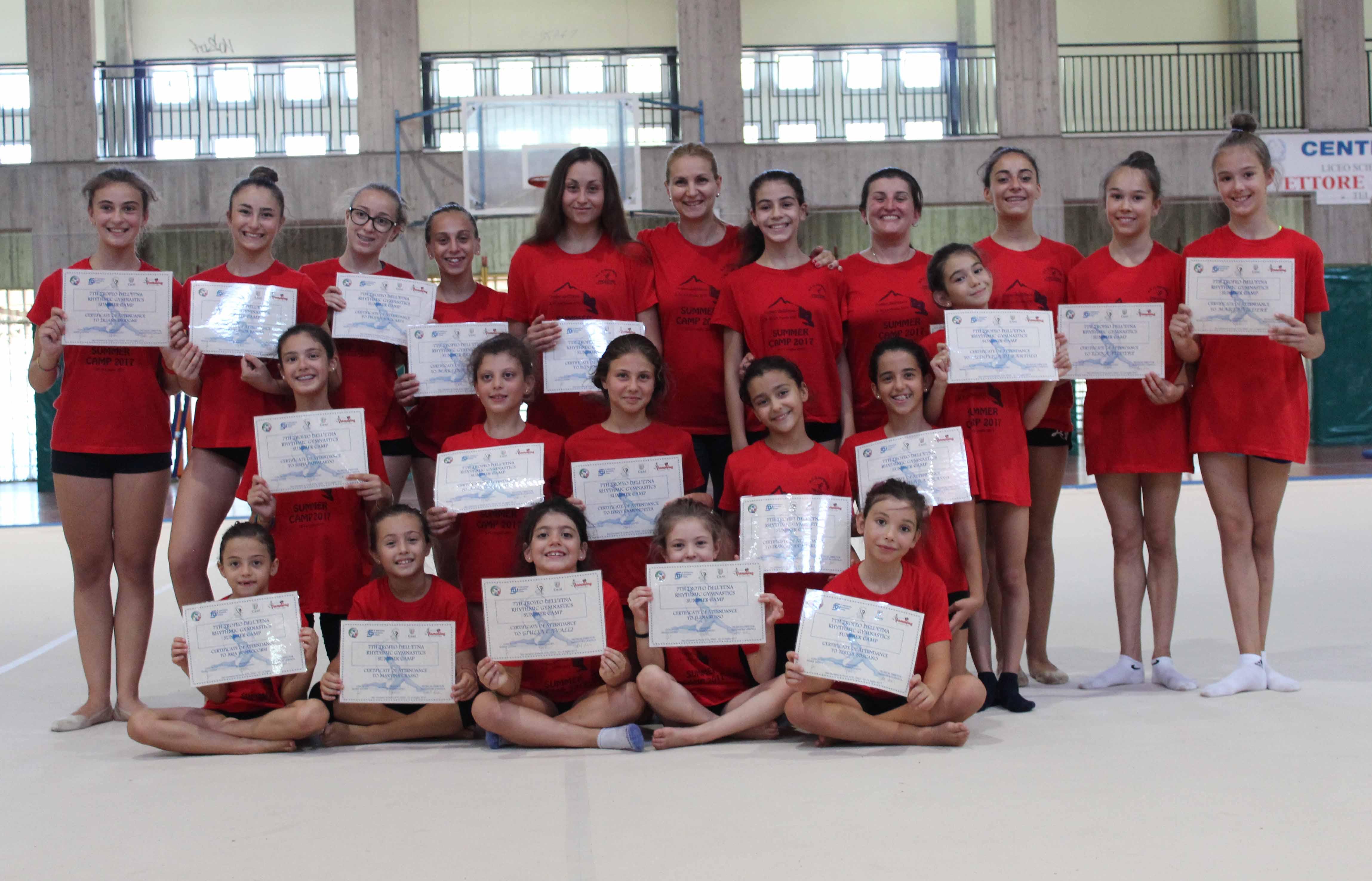 7° Trofeo dell'Etna ritmica Summer Camp, S.G.la Punta, Catania