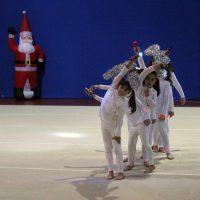 primo turno ginnastica ritmica A Natale Puoi
