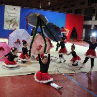 Secondo turno ginnastica ritmica Jamming Christmas